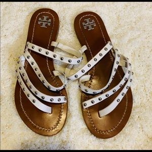 Tory Burch strappy studded sandals
